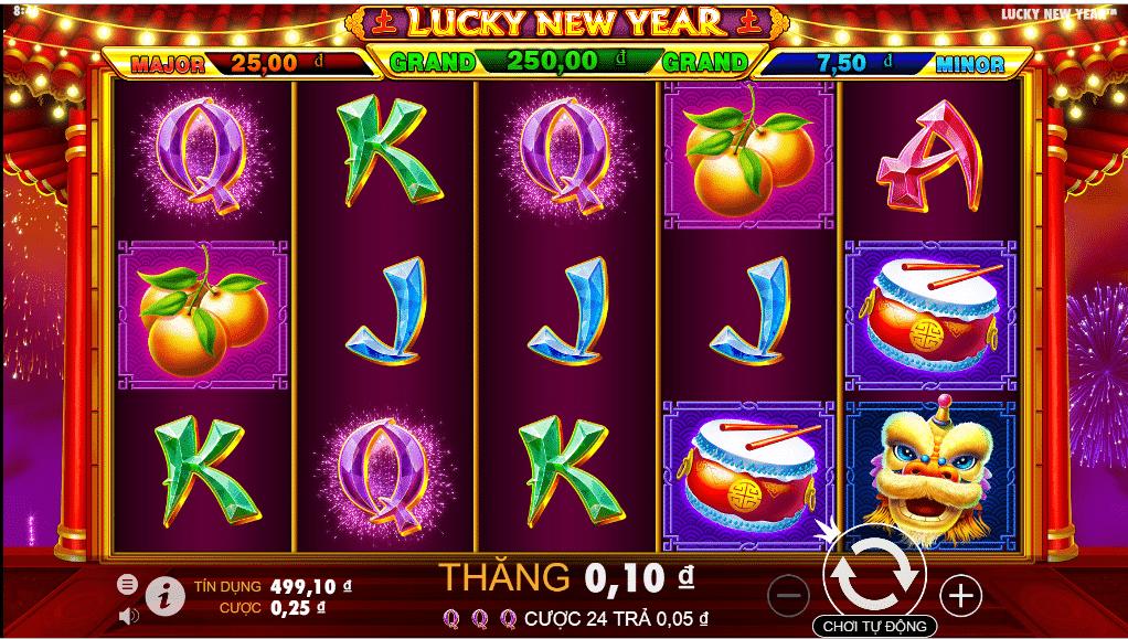 Cách chơi Lucky New Year